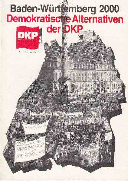 Titelbild: Demokratische Alternativen der DKP