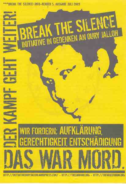 Titelbild: Break the silence