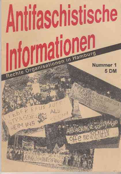 Titelbild: Antifaschistische Informationen