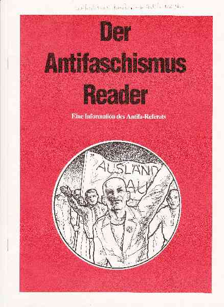 Titelbild: Antifaschismus Reader, Der
