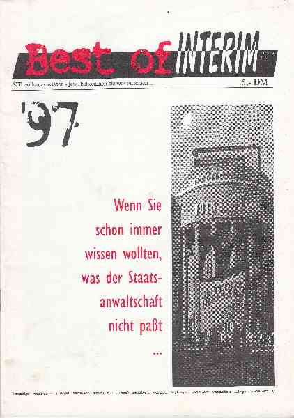 Titelbild: Best of Interim