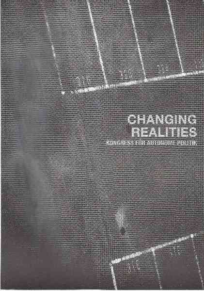 Titelbild: Changing Realities