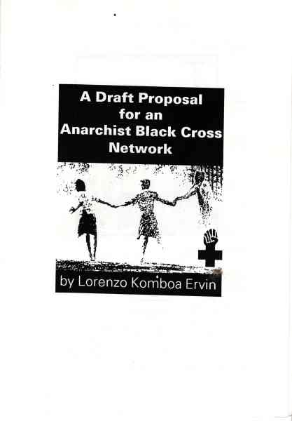 Titelbild: A draft proposal for an Anarchist Black Cross network