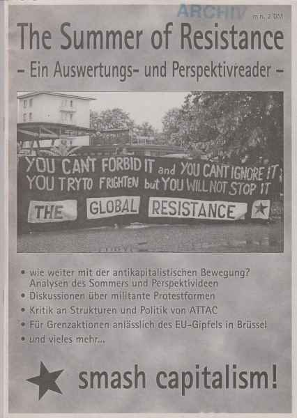 Titelbild: The Summer of Resistance
