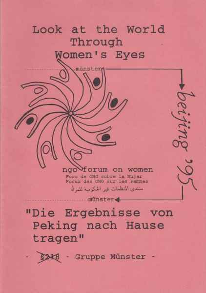 Titelbild: Look at the world through women`s eyes