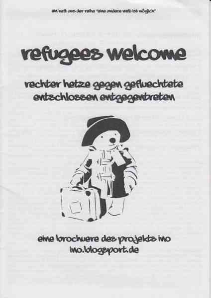 Titelbild: Refugees Welcome