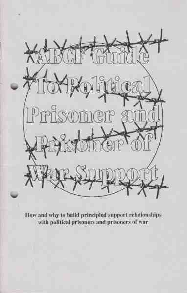 Titelbild: ABCF guide to political and prisoner of war support