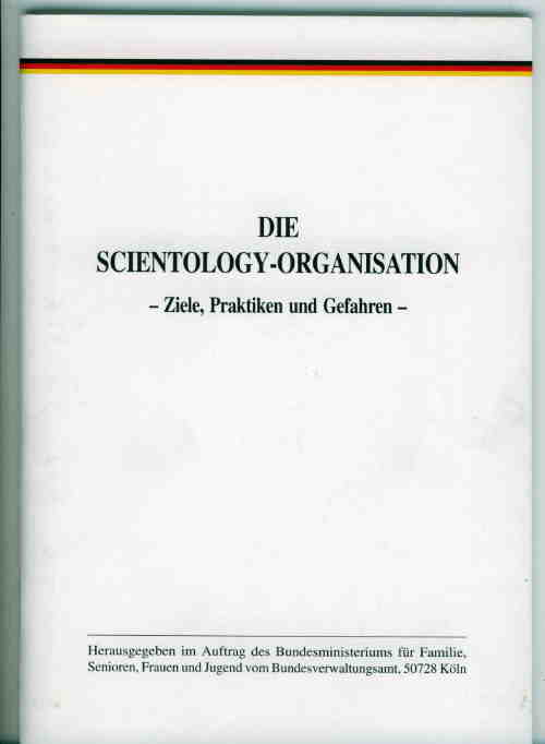 Titelbild: Scientology-Organisation, Die