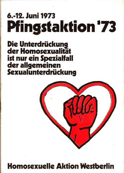 Titelbild: Pfingstaktion 1973