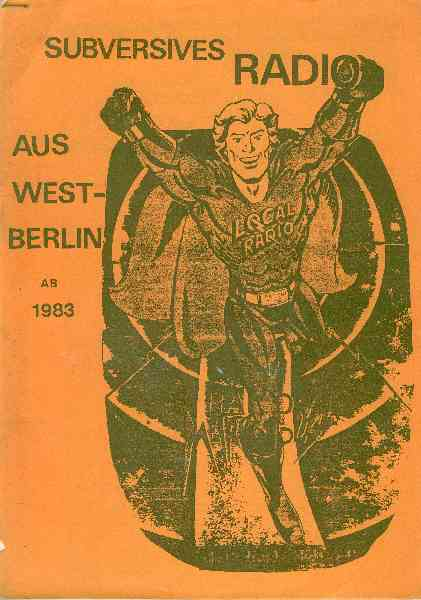 Titelbild: Subversives Radio aus West-Berlin ab 1983