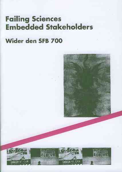 Titelbild: Failing Sciences Embedded Stakeholders